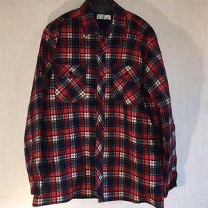 Other - Flannel Plaid Large Men's Shirt